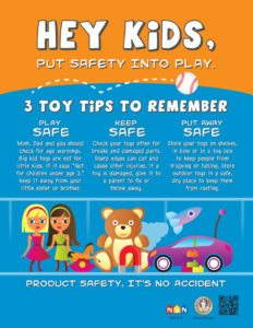 Safety First in Safe Toys and Gifts Month — Great Care of ...